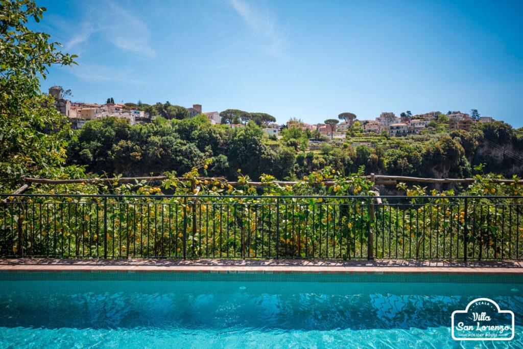 Amalfi Coast holiday house with pool