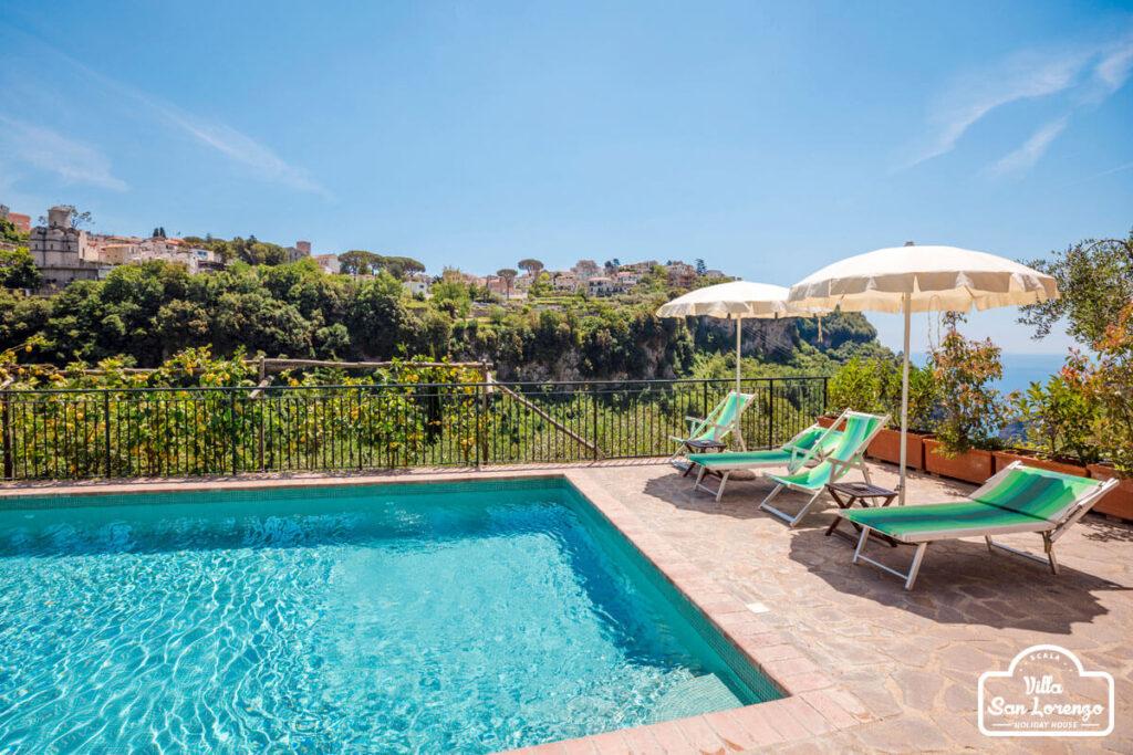 Holiday Apartments with pool Amalfi Coast