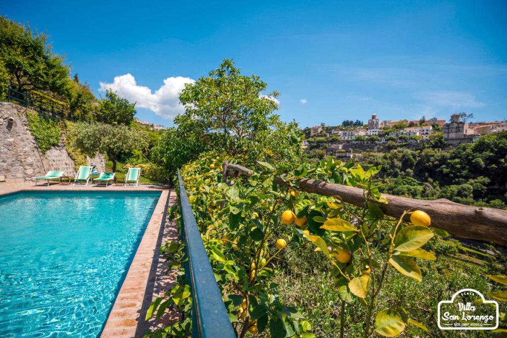 Swimming pool Amalfi Coast