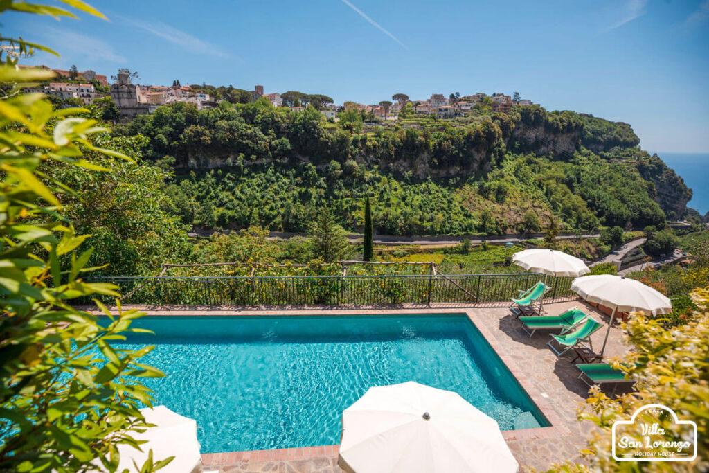 Holiday House and pool Amalfi Coast